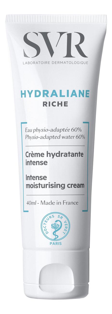 Крем для лица Hydraliane Riche Creme Hydratante Intense 40мл svr hydraliane riche крем насыщенный для обезвоженной сухой кожи 40 мл