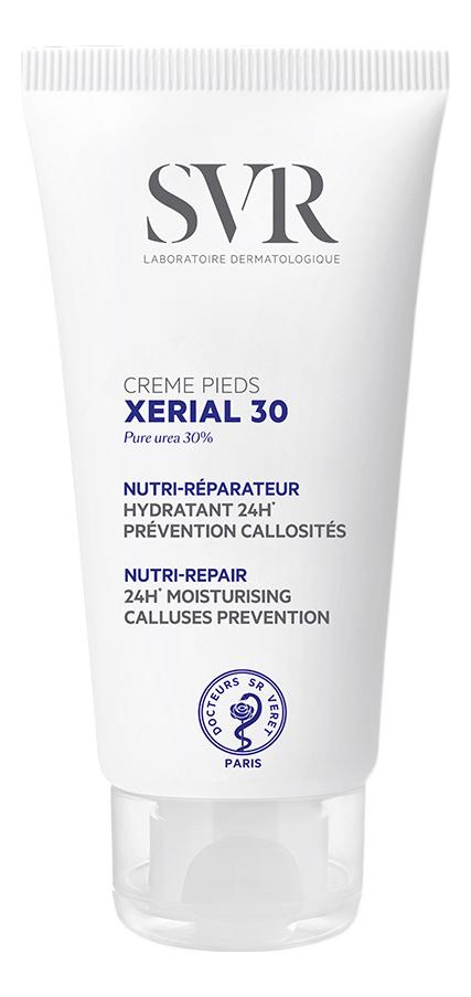 Крем для ног Xerial 30 Creme Pieds 50мл крем для ног xerial 50 extreme creme pieds 50мл