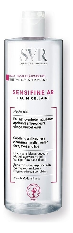 Мицеллярная вода Sensifine AR Eau Micellaire: Мицеллярная вода 400мл фото