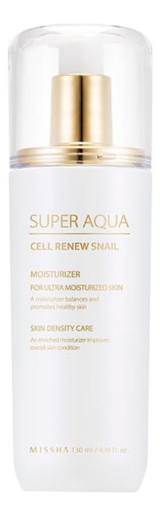 Фото - Регенерирующая эмульсия для лица Super Aqua Cell Renew Snail Essential Moisturizer 130мл регенерирующий тоник для лица super aqua cell renew snail skin treatment 130мл