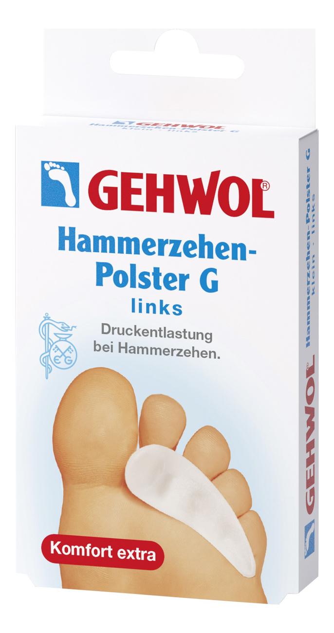 Купить Гель-подушка под пальцы Hammerzehen-Polster G 1шт: Левая, Gehwol