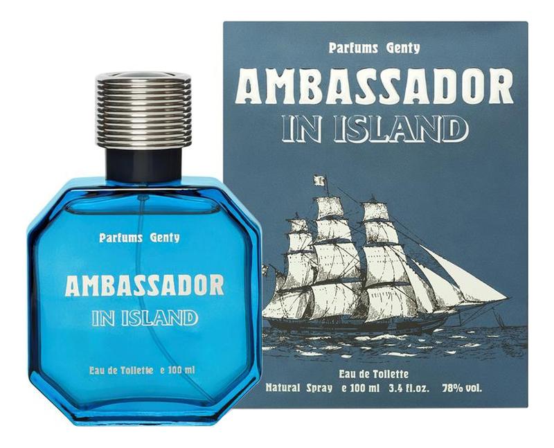 Купить Ambassador In Island: туалетная вода 100мл, Parfums Genty