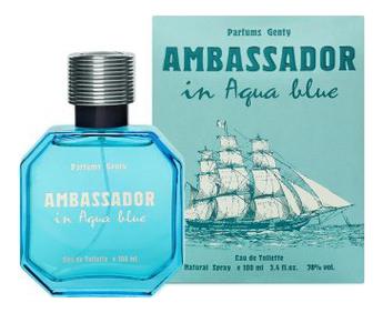цена Parfums Genty Ambassador In Aqua Blue: туалетная вода 100мл онлайн в 2017 году