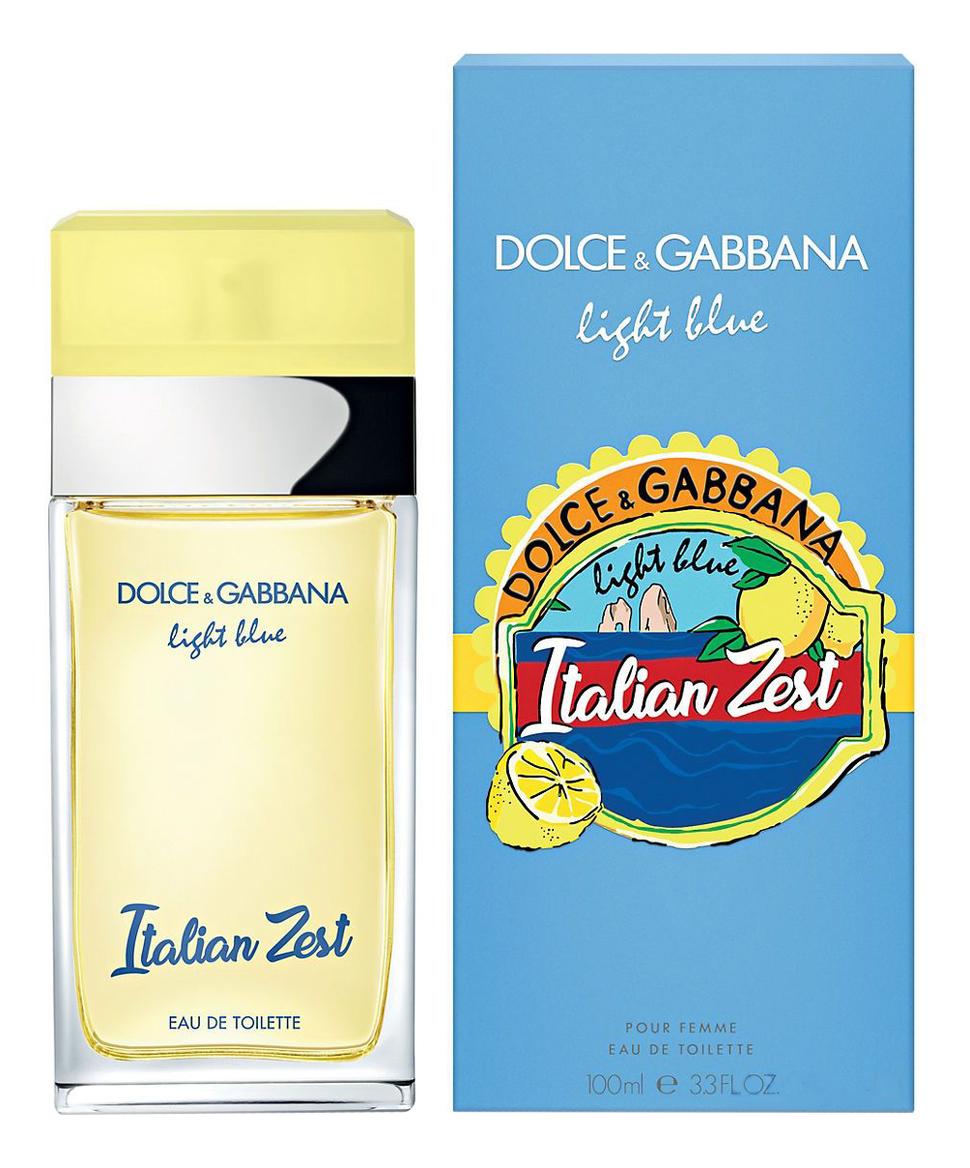 Dolce Gabbana (D&G) Light Blue Italian Zest: туалетная вода 100мл