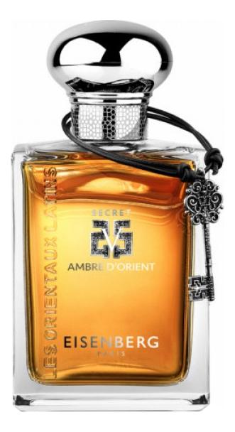 Eisenberg Ambre DOrient Secret V Pour Homme: парфюмерная вода 100мл тестер