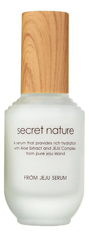 Увлажняющая сыворотка для лица с экстрактом зеленого чая From Jeju Line Serum 50мл, Secret Nature  - Купить