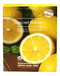 Фото - Тканевая маска для лица с экстрактом лимона Mask Line Lemon Sheet 25мл освежающая тканевая маска для лица с экстрактом огурца mask line cucumber sheet 25мл