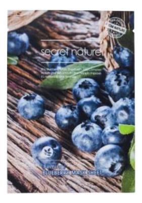 Укрепляющая тканевая маска для лица с экстрактом черники Mask Line Blueberry Sheet 25мл тканевая маска для лица с экстрактом черники purity blueberry sheet mask 22мл маска 1шт