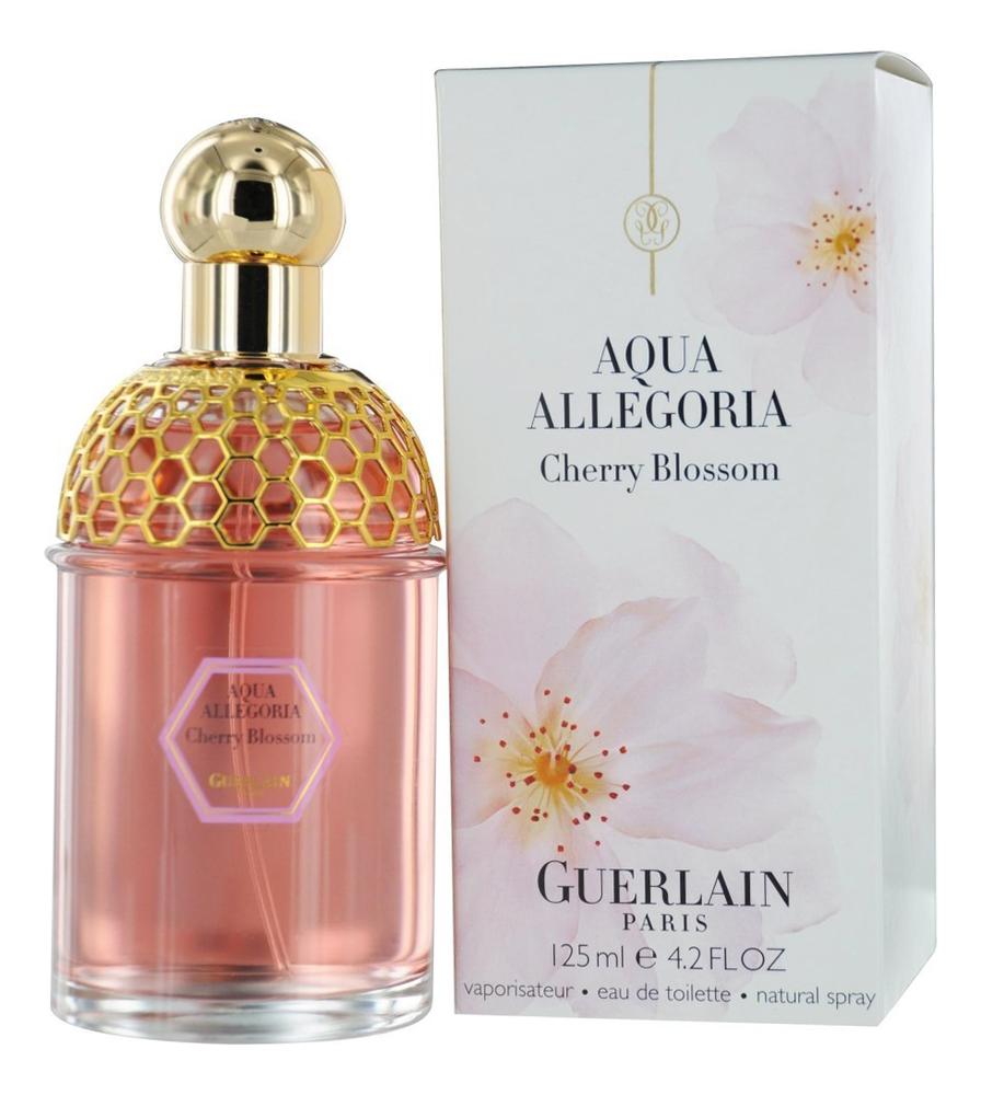 Купить Aqua Allegoria Cherry Blossom: туалетная вода 125мл, Guerlain