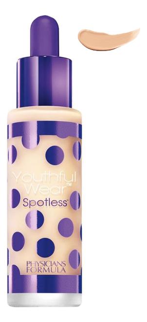 цена на Тональная основа Youthful Wear Spotless Foundation SPF15 28,35г: Светлый средний