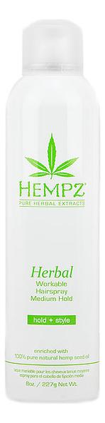 Лак растительный для волос Herbal Workable Hairspray Medium Hold 227мл сковорода 16 см baumalu медь 201010