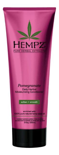 Фото - Увлажняющий и разглаживающий кондиционер для волос Daily Herbal Moisturizing Pomegranate Conditioner: Кондиционер 265мл увлажняющий кондиционер для волос с витамином в5 atlantis moisturizing conditioner кондиционер 241мл