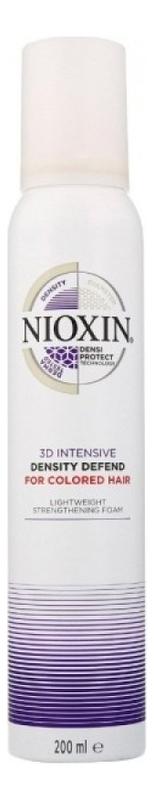 Мусс для защиты цвета волос 3D Intensive Density Defend for colored hair 180мл