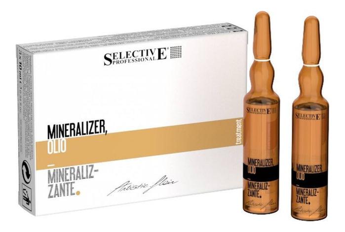 Реструктурирующий лосьон-масло для волос Artistic Flair Mineralizer: Лосьон 10*12мл ducray неоптид лосьон от выпадения волос для мужчин 100 мл