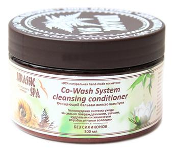 Очищающий бальзам вместо шампуня для сухих и поврежденных волос Co-Wash System Hair Fortifier Cleansing Conditioner: Бальзам 300мл