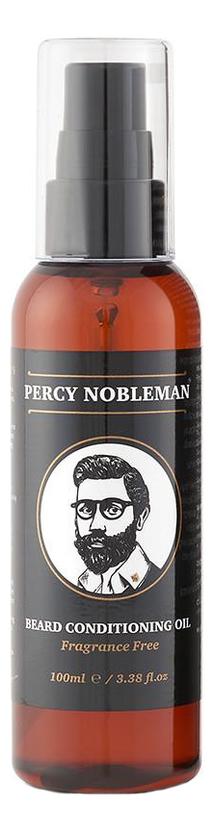 Купить Масло для бороды без запаха Beard Conditioning Oil Fragrance Free 100мл, Percy Nobleman