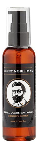 Купить Парфюмерное масло для бороды Beard Conditioning Oil Signature Scented 100мл: Масло 100мл, Percy Nobleman