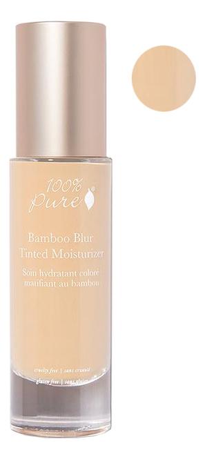 Матирующий тональный крем для лица Bamboo Blur Tinted Moisturizers 50мл: White Peach