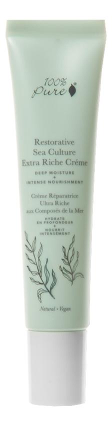 Органический ультрапитательный крем для лица Restorative Sea Culture Extra Riche Creme 40мл