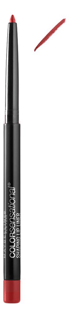 Механический лайнер для губ Color Sensational Shaping Lip Liner: No 90 лайнер для губ maybelline new york color sensational тон 80 b2851900