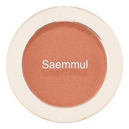 Однотонные румяна Saemmul Single Blusher 5г: BE02 Flash Beige note румяна terracotta blusher 04 sugar sense