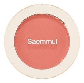 Однотонные румяна Saemmul Single Blusher 5г: CR03 Sunshine Coral однотонные румяна saemmul single blusher 5г rd02 dry rose