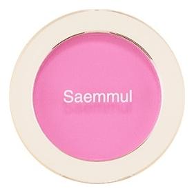 Однотонные румяна Saemmul Single Blusher 5г: PK03 Freeze Pink фото