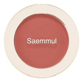 Однотонные румяна Saemmul Single Blusher 5г: RD03 Trench Rose однотонные румяна saemmul single blusher 5г rd02 dry rose