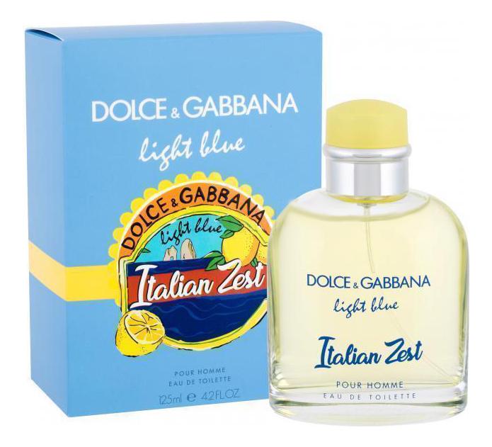 Dolce Gabbana (D&G) Light Blue Pour Homme Italian Zest: туалетная вода 125мл
