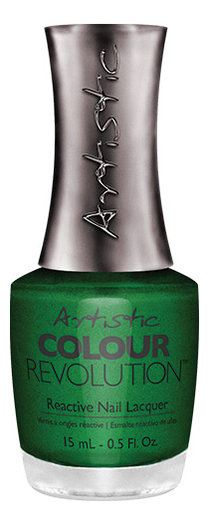 Недельный лак для ногтей Colour Revolution Reactive Nail Lacquer 15мл: 2300133 What The Elf? лак artistic nail design color revolution nail lacquer 15 мл оттенок cheeky