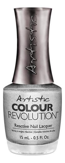 Недельный лак для ногтей Colour Revolution Reactive Nail Lacquer 15мл: 2300148 Heart Of Chrome лак artistic nail design color revolution nail lacquer 15 мл оттенок devil wears nada