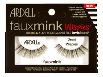 Накладные ресницы из норки Faux Mink (L): Demi Wispies
