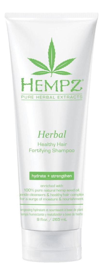 Купить Шампунь для волос Herbal Healthy Hair Fortifying Shampoo: Шампунь 265мл, Hempz