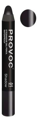 Купить Тени-карандаш для глаз водостойкие Eyeshadow Pencil 2, 3г: 01 Shadow, Provoc