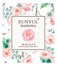 EUNYUL Тканевая маска для лица с экстрактом розы Beautiful Rose Mask Pack 30мл