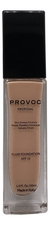 Provoc Тональная основа для лица Proposal Fluid Foundation Velvety Finish SPF15 30мл