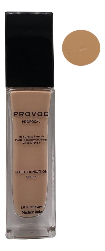 Купить Тональная основа для лица Proposal Fluid Foundation Velvety Finish SPF15 30мл: No11, Provoc