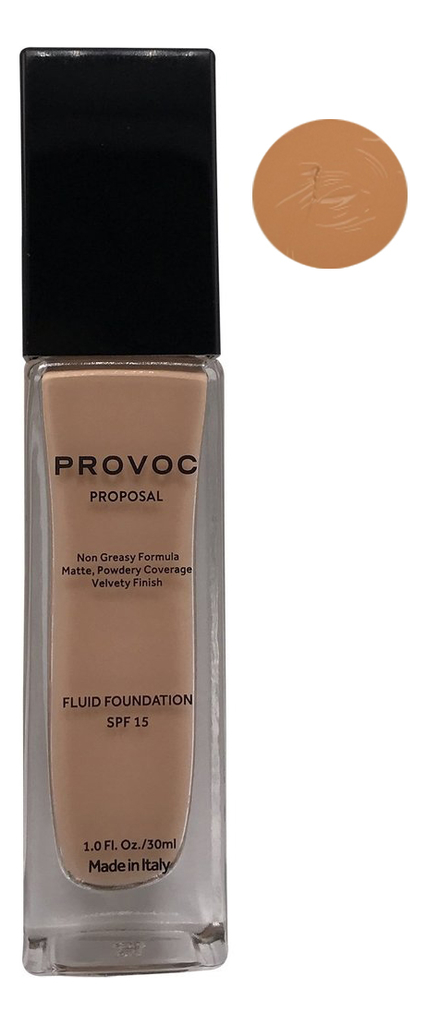 Тональная основа для лица Proposal Fluid Foundation Velvety Finish SPF15 30мл: No14 фото