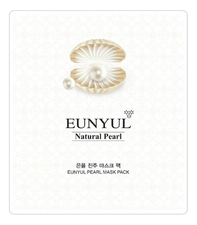 EUNYUL Тканевая маска для лица с экстрактом жемчуга Natural Pearl Mask Pack 30мл