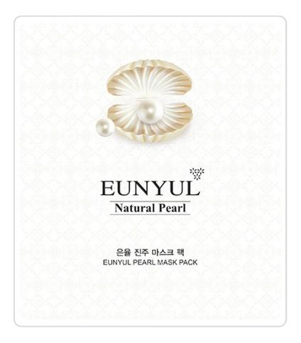 Тканевая маска для лица с экстрактом жемчуга Natural Pearl Mask Pack 30мл
