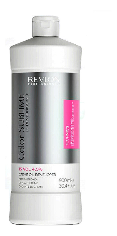 Кремообразный окислитель для краски Revlonissimo Color Sublime Cream Oil Developer 4,5% 900мл chi luxury black seed oil curl defining cream gel