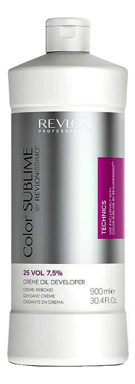 Кремообразный окислитель для краски Revlonissimo Color Sublime Cream Oil Developer 7,5%: Окислитель 900мл недорого