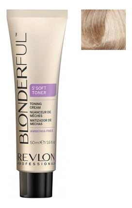 Тонирующий крем для волос без аммиака Blonderful 5'Soft Toner Toning Cream 50мл: No 10.02