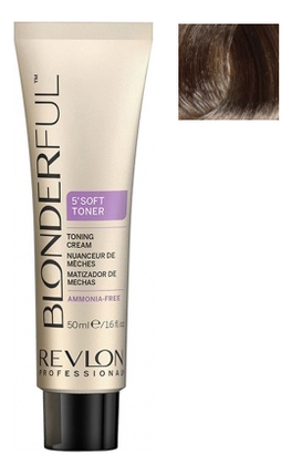 Тонирующий крем для волос без аммиака Blonderful 5'Soft Toner Toning Cream 50мл: No 9.01 осветлитель для волос soft lightener 5 minutes lightening cream 50мл