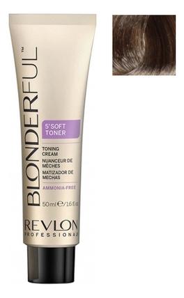 Тонирующий крем для волос без аммиака Blonderful 5'Soft Toner Toning Cream 50мл: No 9.01