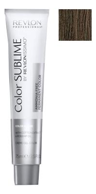 Купить Перманентная краска для волос без аммиака Revlonissimo Color Sublime 75мл: No 4.41, Revlon Professional