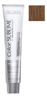 Купить Перманентная краска для волос без аммиака Revlonissimo Color Sublime 75мл: No 6.34, Revlon Professional