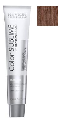 Купить Перманентная краска для волос без аммиака Revlonissimo Color Sublime 75мл: No 6.35, Revlon Professional