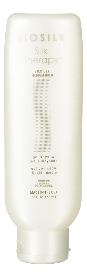 Гель для укладки волос Шелковая терапия Biosilk Silk Therapy Silk Gel 177мл chi luxury black seed oil curl defining cream gel