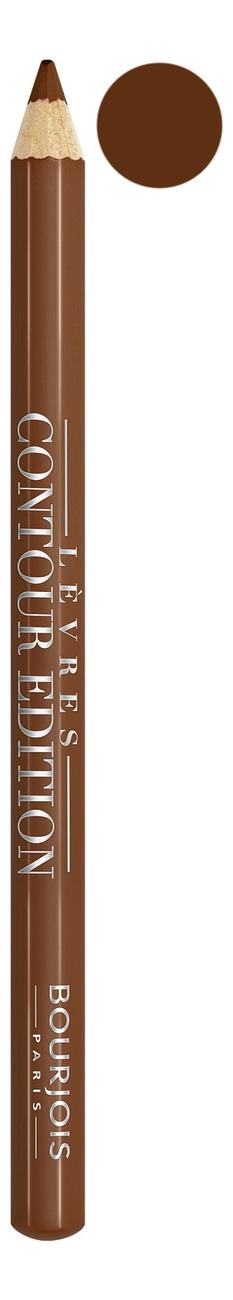 Купить Карандаш контурный для губ Levres Contour Edition 1, 14г: 14 Dark Chocolate, Bourjois